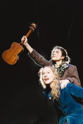 Lucy La Soupe and Lily Ross-Millard, 2015 festival . Photo by Mel Hattie