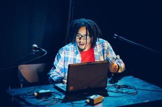 Vadell Gabriel, 2015 festival . Photo by Mel Hattie