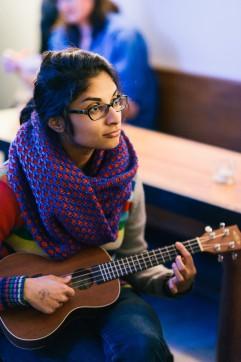 Haritha Popuri, 2015 festival . Photo by Mel Hattie