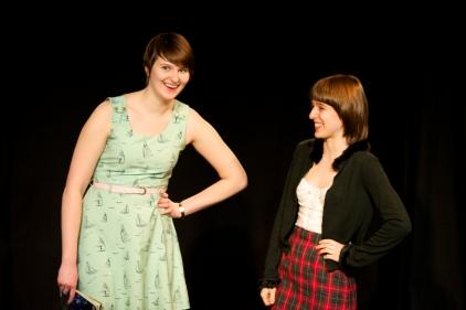 Amy Hurley and Mattie Sullivan, festival artists 2014. Photo by Kit Moran.