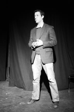 Anthony Black at How I Got My StART 2014. Photo by Erica Guy.